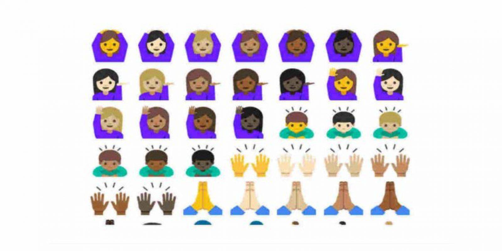 Y más humanos. Foto:Emojipedia