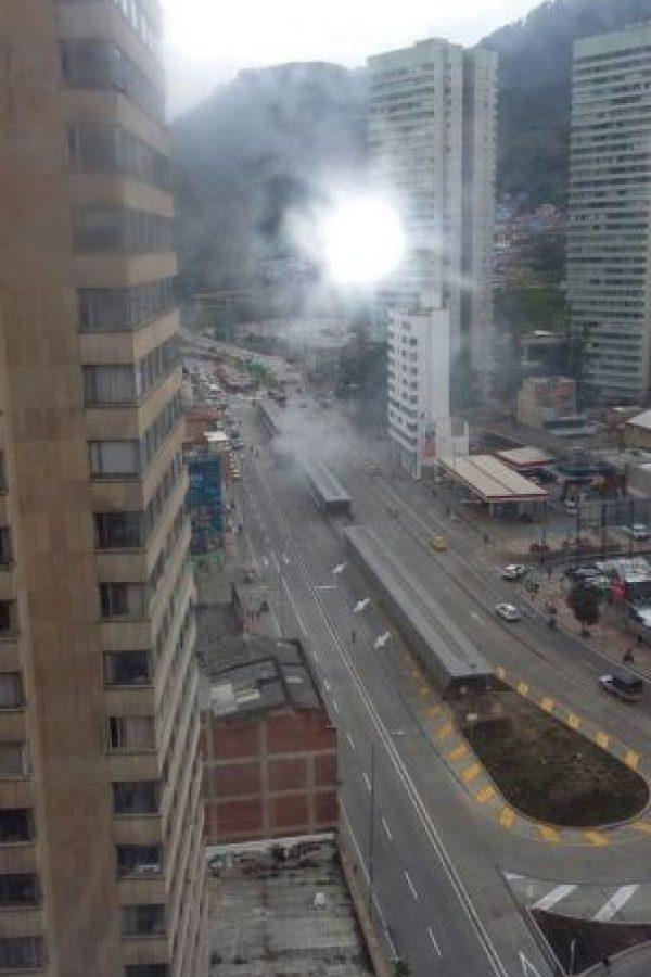 Foto:Emergencia Bogotá