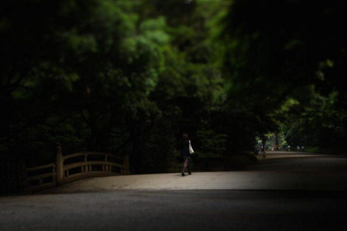 Sus padres lo dejaron abandonado en un camino Foto:Getty Images