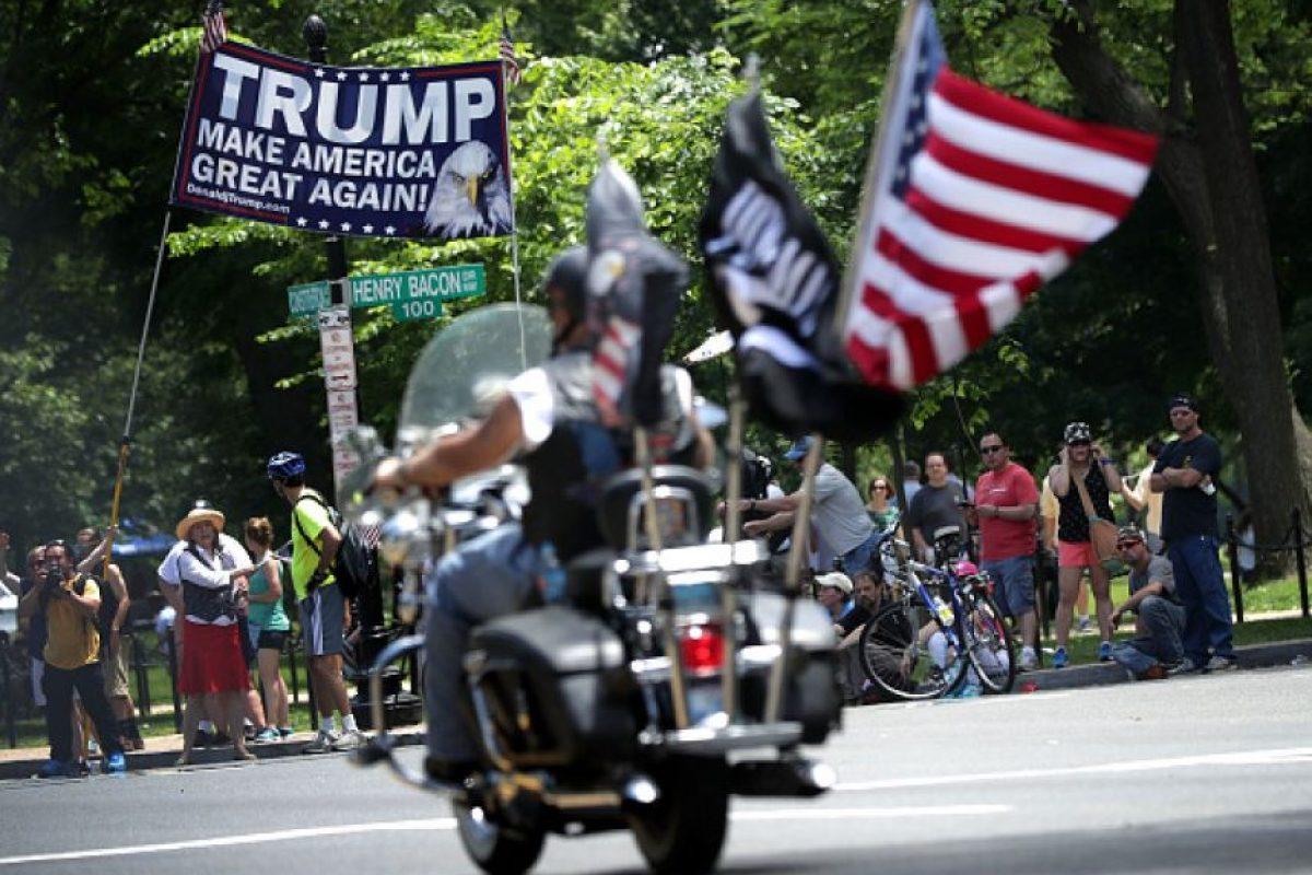 """El hecho de que haya alcanzado """"el número mágico"""" implica que la convención será un mero trámite para su candidatura presidencial Foto:Getty Images"""