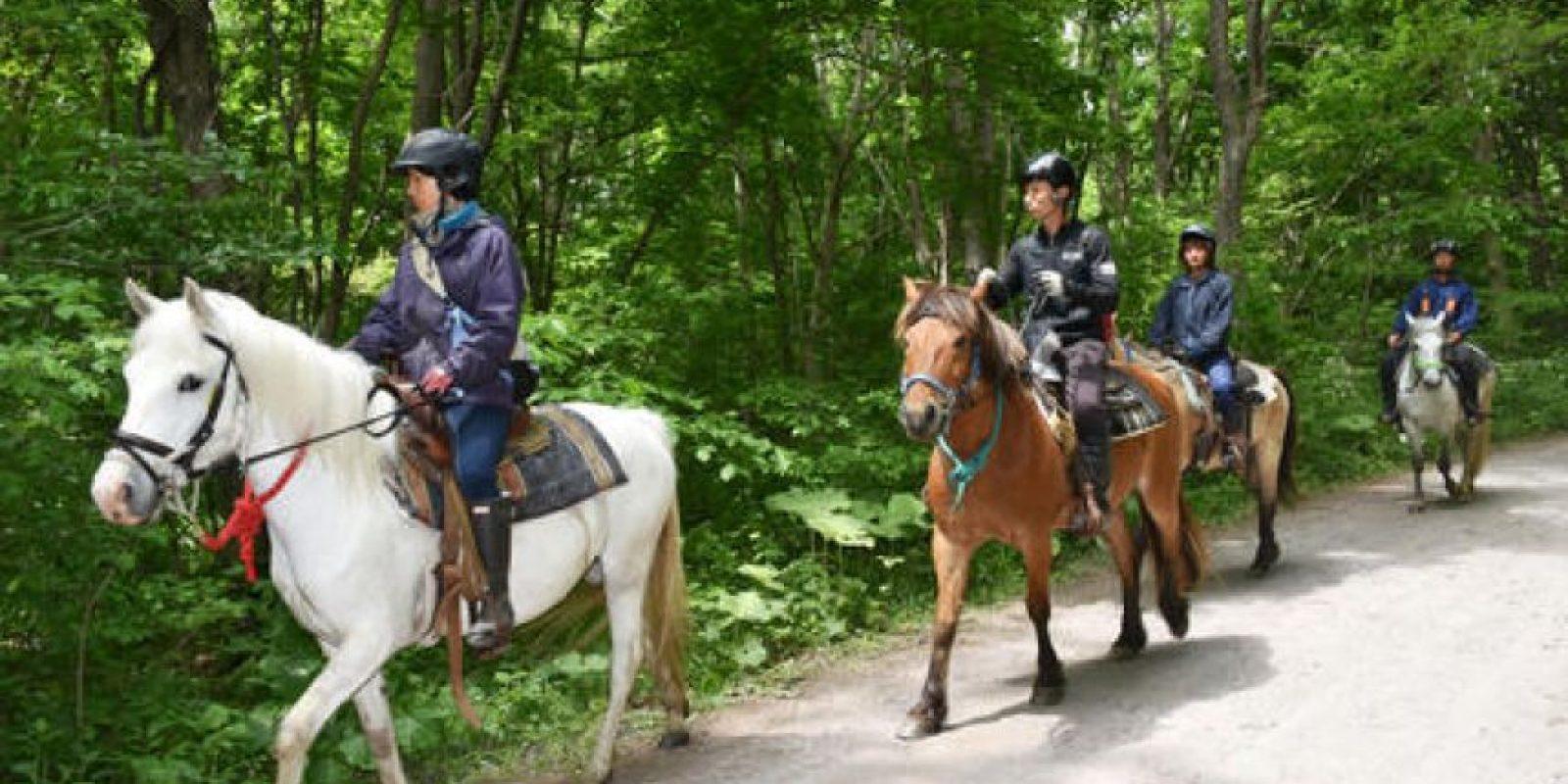 Incluso, con un escuadrón a caballo Foto:AP