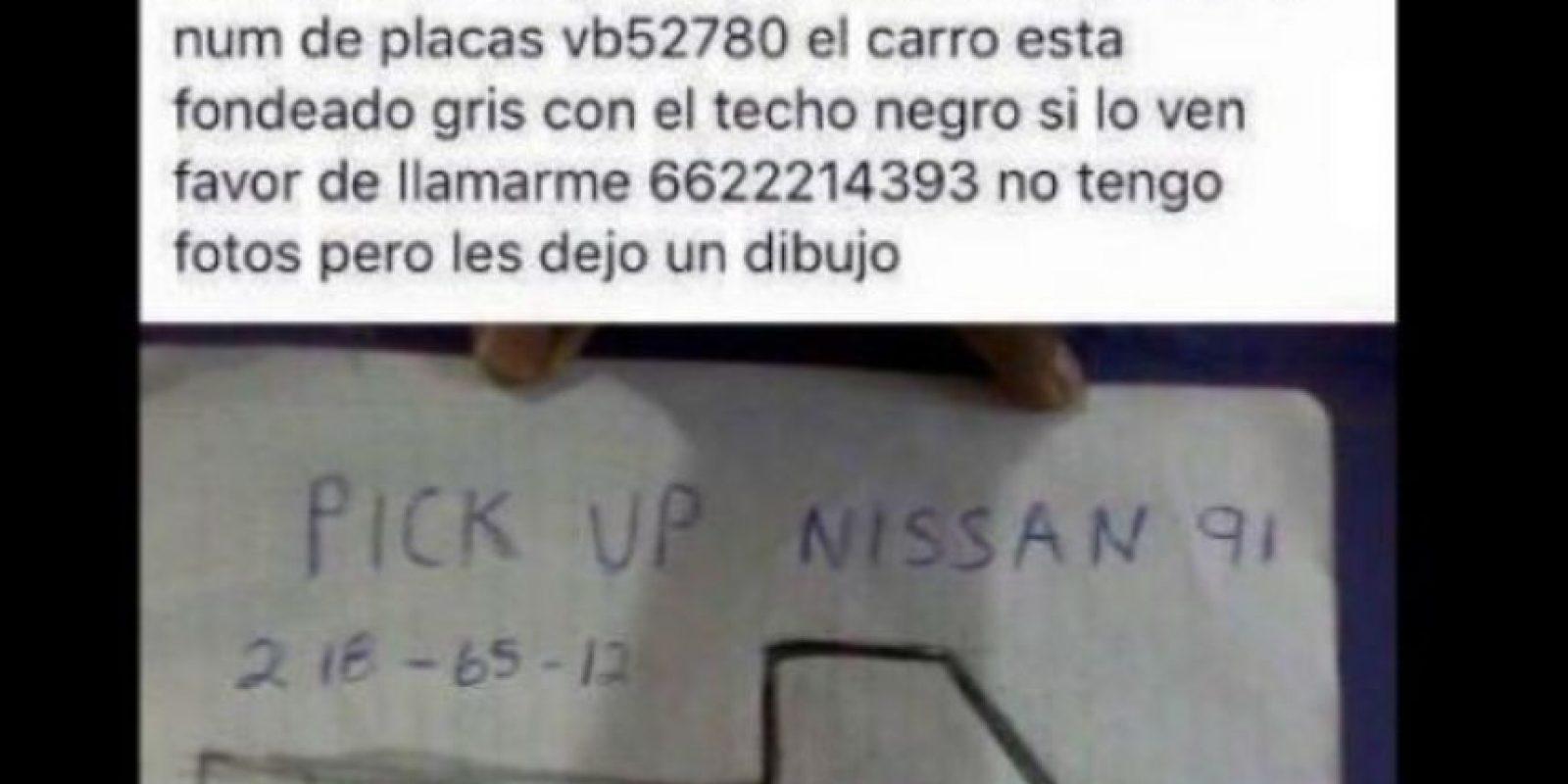 A una mujer le robaron su camioneta el año pasado. Foto:vía Twitter