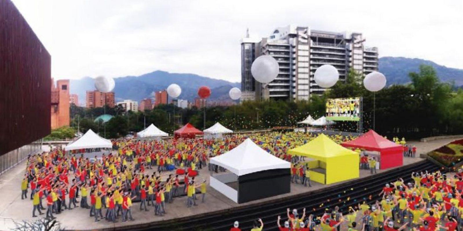 Plaza Mayor Medellín será el punto de encuentro para disfrutar toda la emoción del fútbol de la selección Colombia. Foto:Cortesía Plaza Mayor.