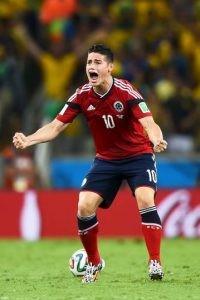 James Rodríguez (Colombia) 70 millones de euros Foto: Getty Images