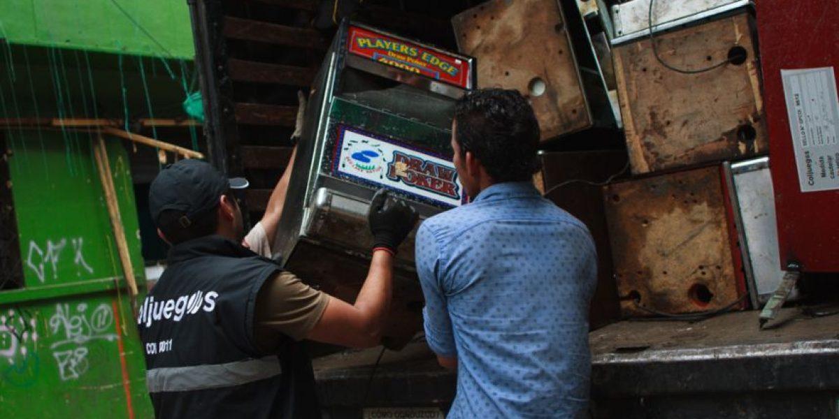 Máquinas tragamonedas financiaban los delitos en el Bronx