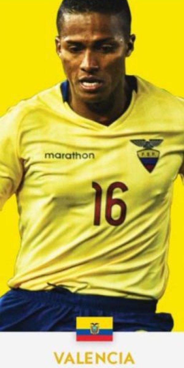 Enner Valencia (Ecuador/West Ham) Foto:ca2016.com