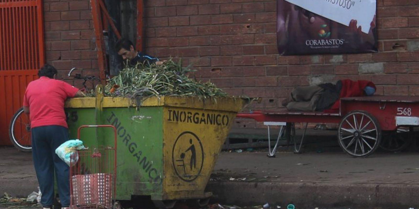 Los contenedores se llena poco a poco. Foto:Sofía Toscano-Publimetro