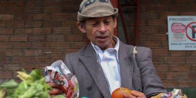 Es una práctica que se ve desde hace años en Corabastos. Foto:Sofía Toscano-Publimetro