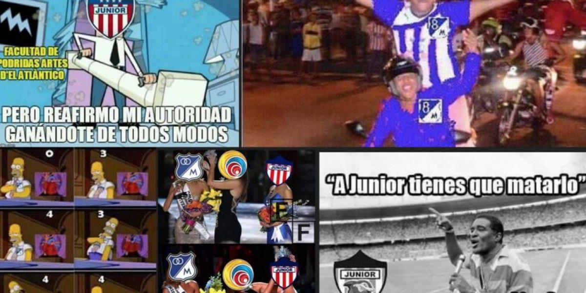 Memes de la apasionante definición entre Millonarios y Junior