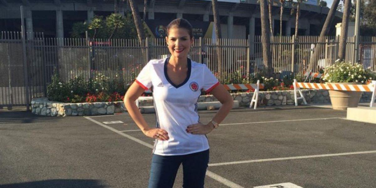 Las famosas colombianas lucen la nueva camiseta de la Selección