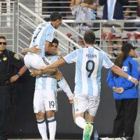 Argentina se impuso 2-1 a Chile en su debut en la Copa América Centenario Foto:Getty Images