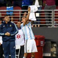 Ángel Di María abrió el marcador Foto:Getty Images