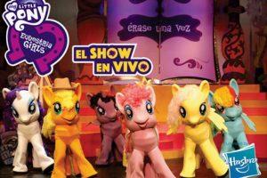 My Little Pony y Equestria Girls , un espectacular show en el que todos los personajes de estas series animadas en el Coliseo de la UPB. Foto:Tomada de tuticket.com