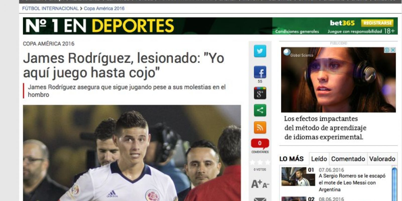 Foto:Captura de pantalla diario Sport