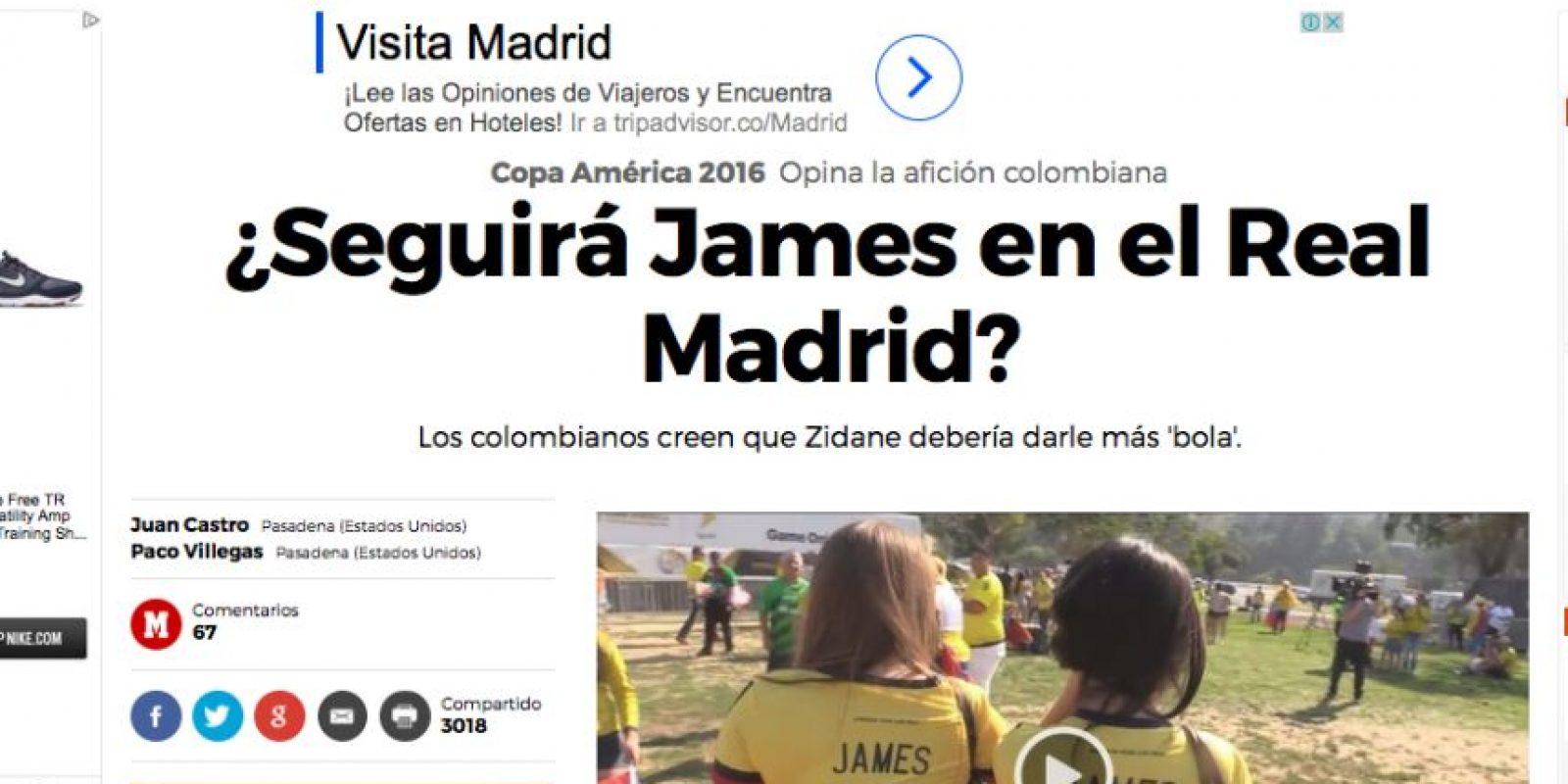 Foto:Captura de pantalla diario Marca