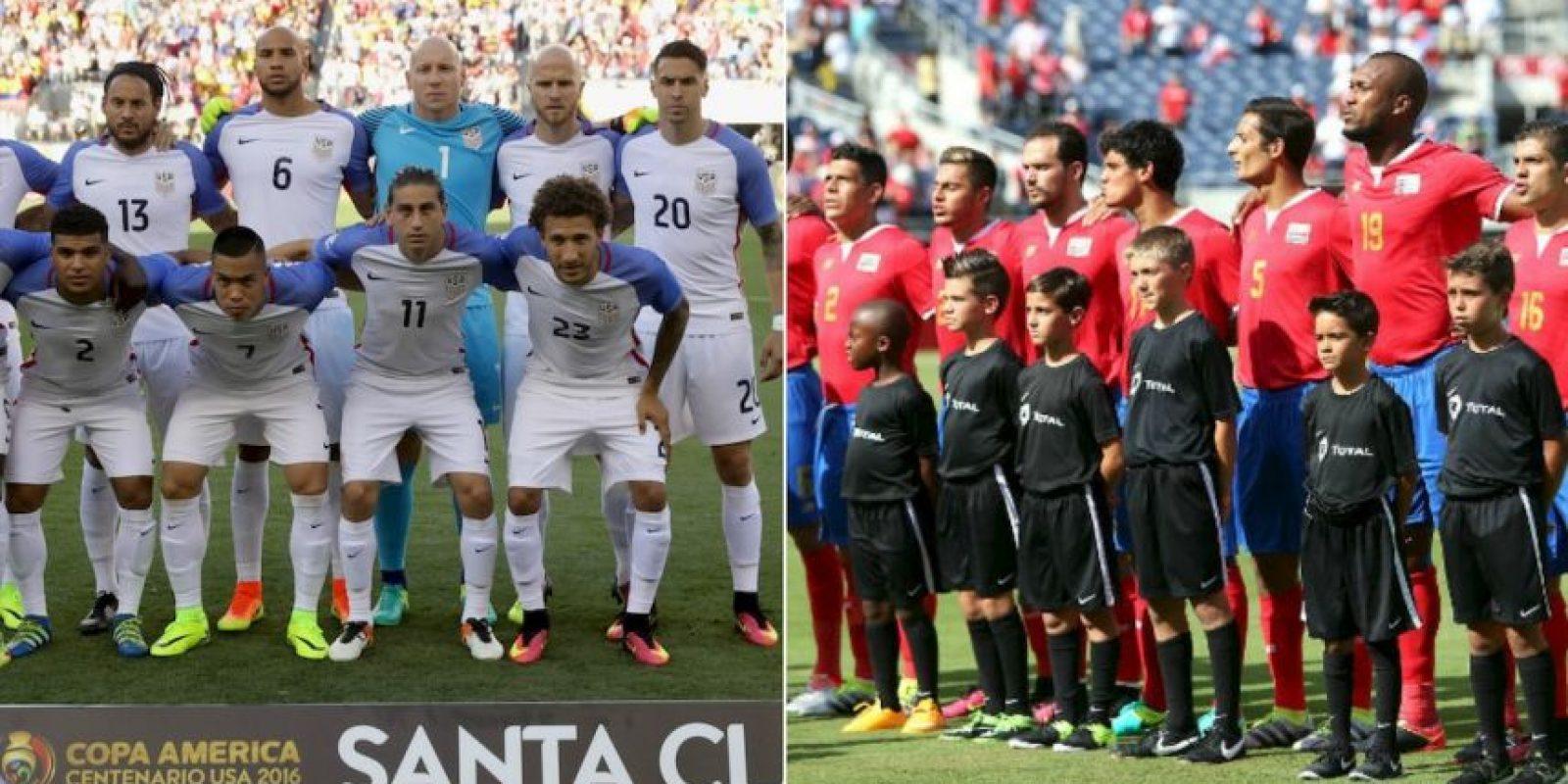Estdos Unidos vs. Costa Rica Foto:Getty Images