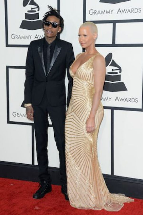 Amber Rose se casó con Wiz en 2013 Foto:Getty Images
