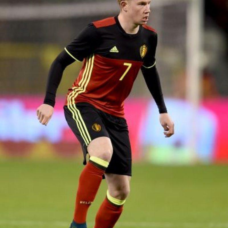 Kevin de Bruyne (Bélgica) – 60 millones de euros Foto:Getty Images