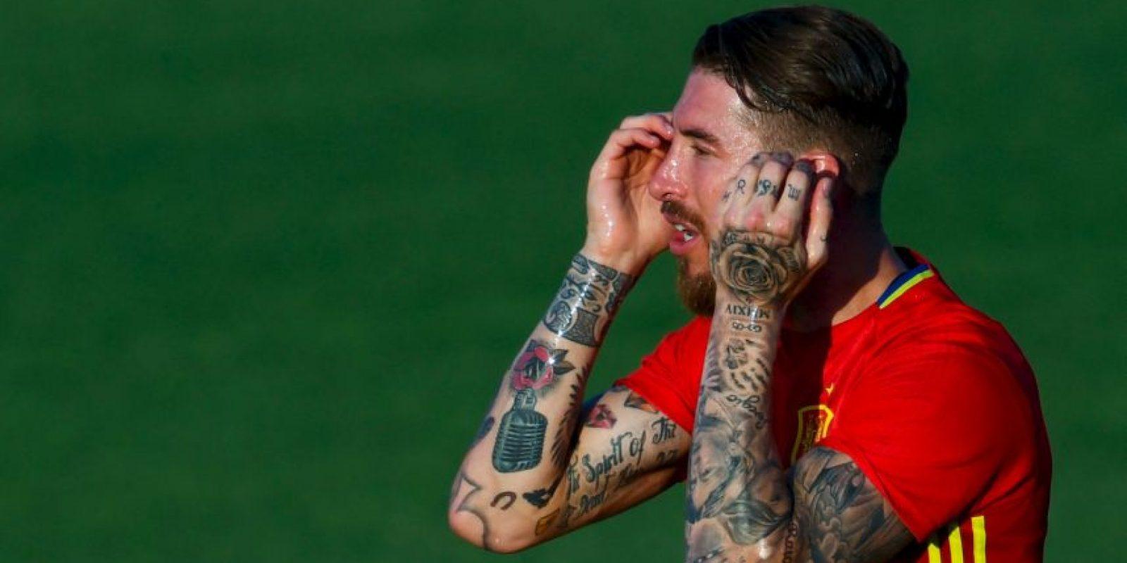 Sergio Ramos (España) – 40 millones de euros Foto:Getty Images