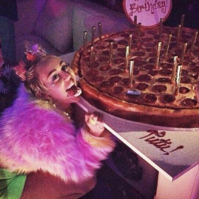 Miley Cyrus Foto:vía instagram.com/mileycyrus