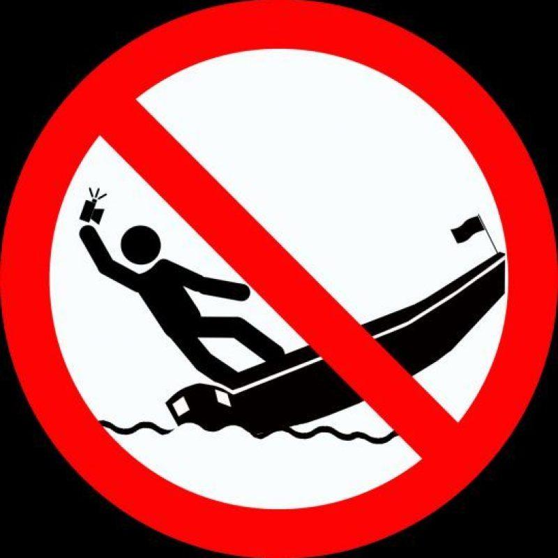 El gobierno ruso quiere evitar más accidentes causados por tomarse selfies. Foto:vía mvd.ru