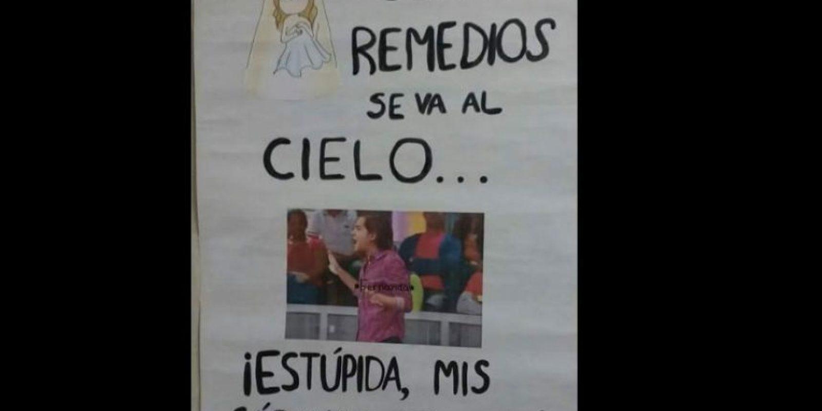 """Esteban de """"Caso Cerrado"""" es Fernanda del Carpio cuando Remedios la bella le quita las sábanas. Foto:vía Facebook/JackieBreuma"""