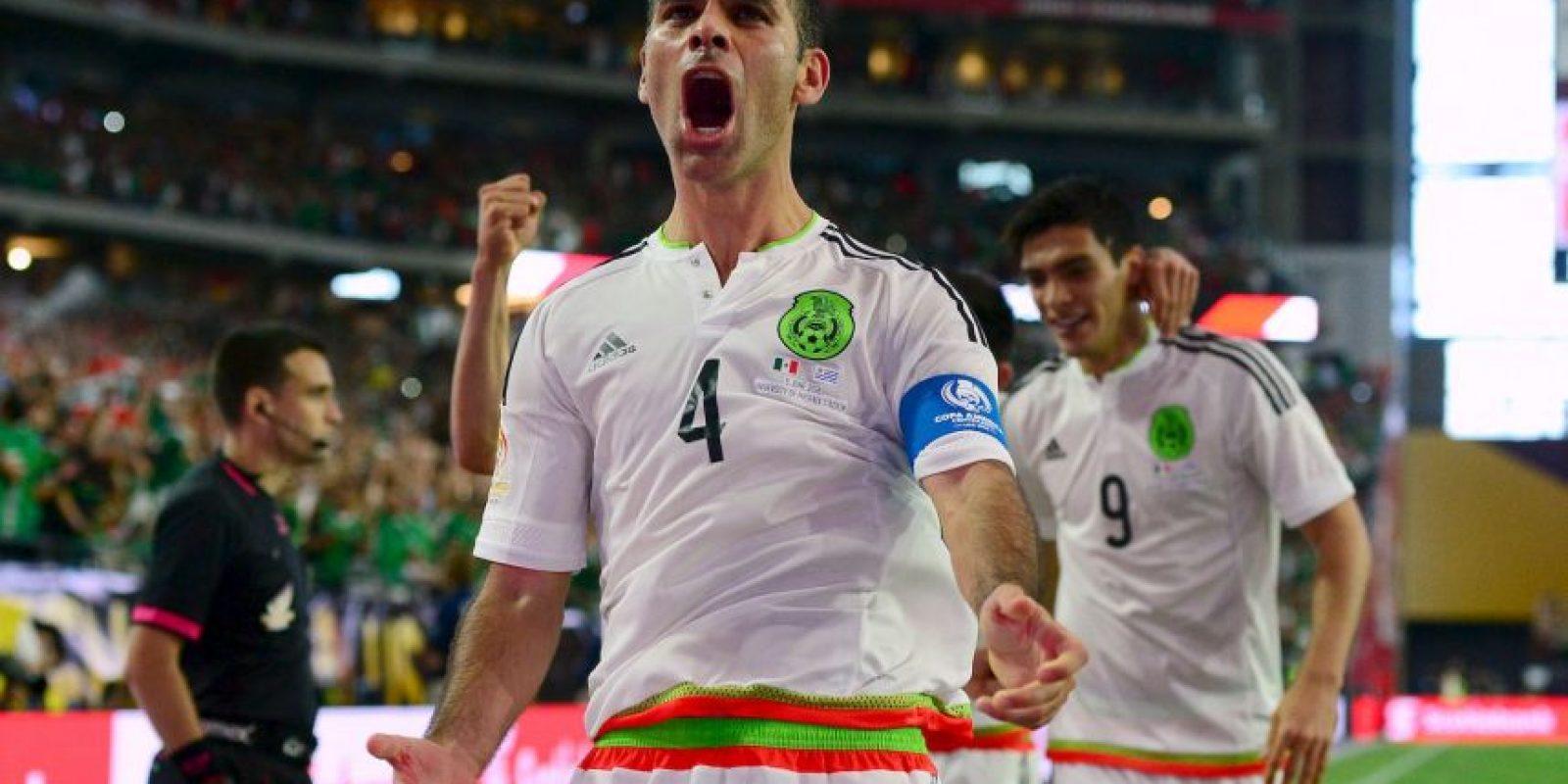 """El """"Tri"""" llega al partido con tres puntos Foto:Getty Images"""