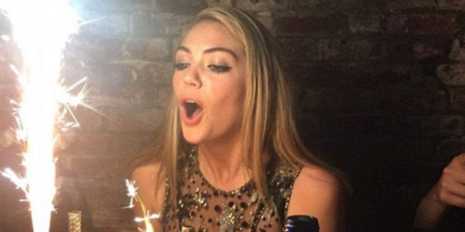 Kate precelebrando su cumpleaños Foto:Instagram