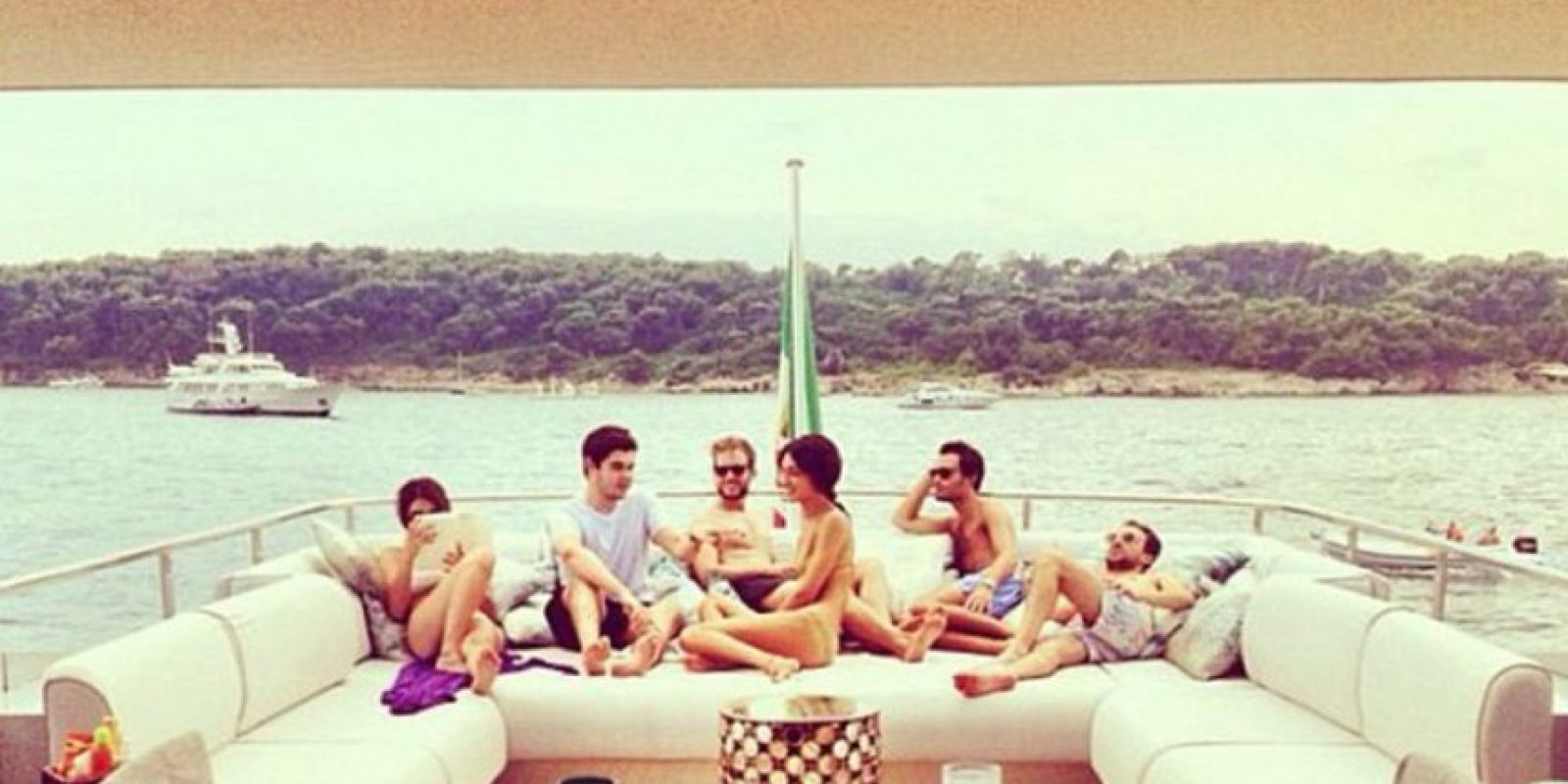 Así como su vida hedonista. Foto:vía Instagram