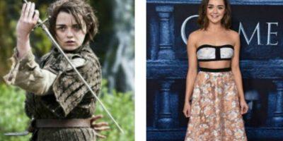 "Maisie Williams es ""Arya Stark"" Foto:HBO/Getty Images"