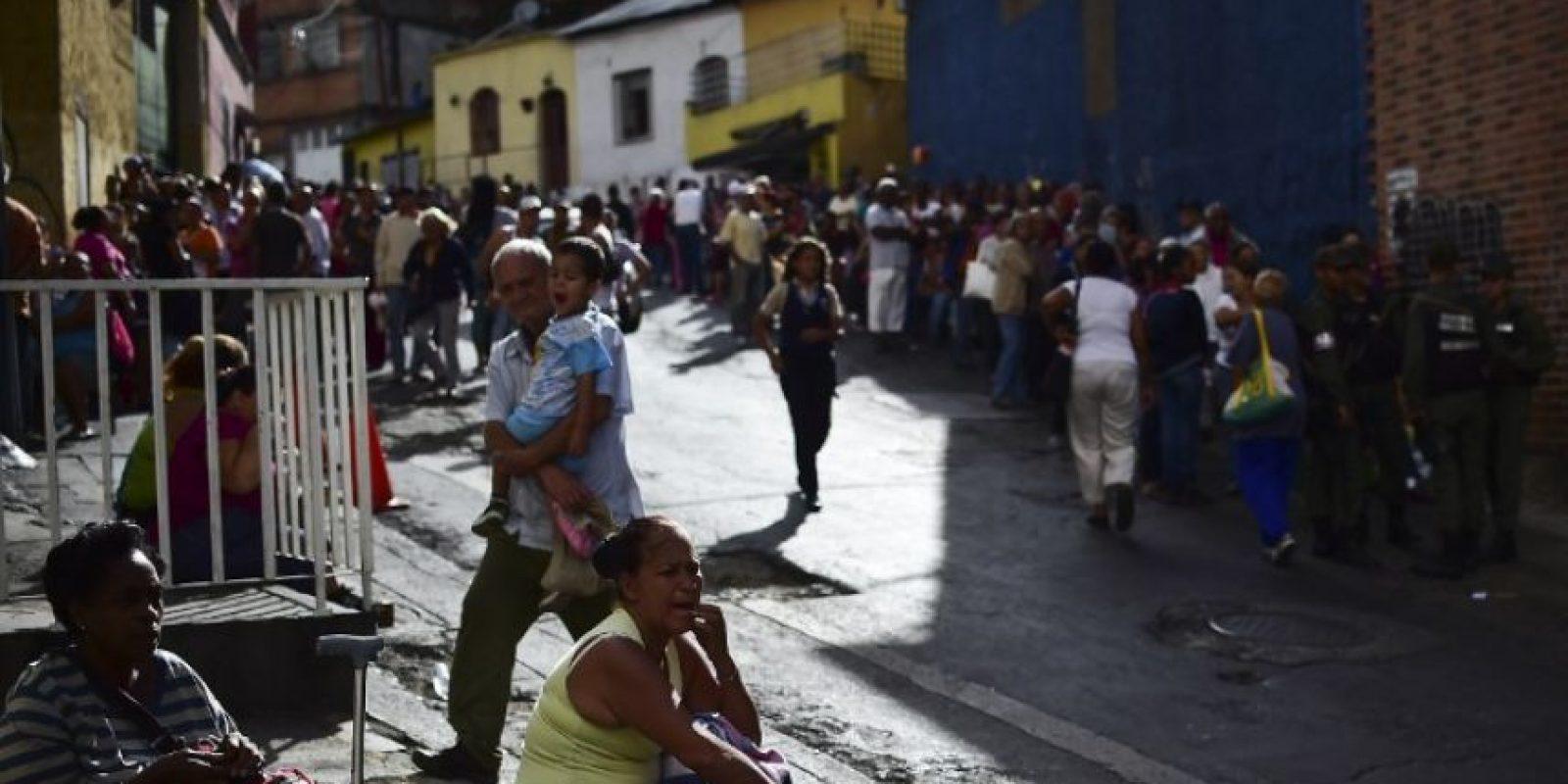Las protestas y los saqueos cada vez son más violentos. Foto:AFP