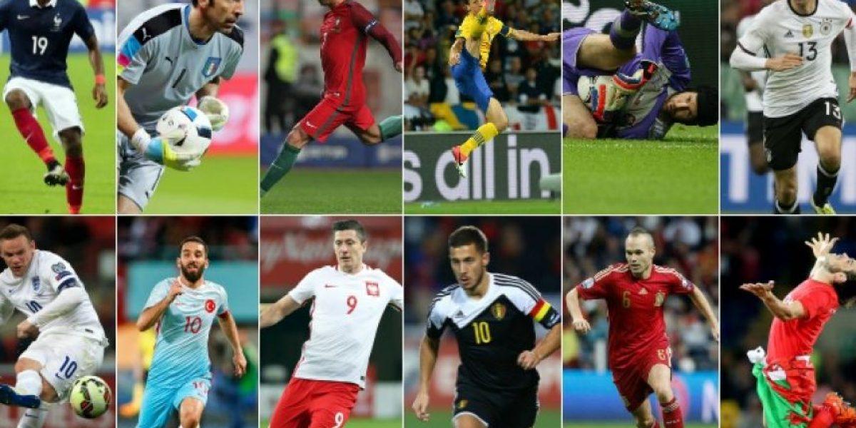 Las figuras que comandarán a cada selección en la Euro 2016