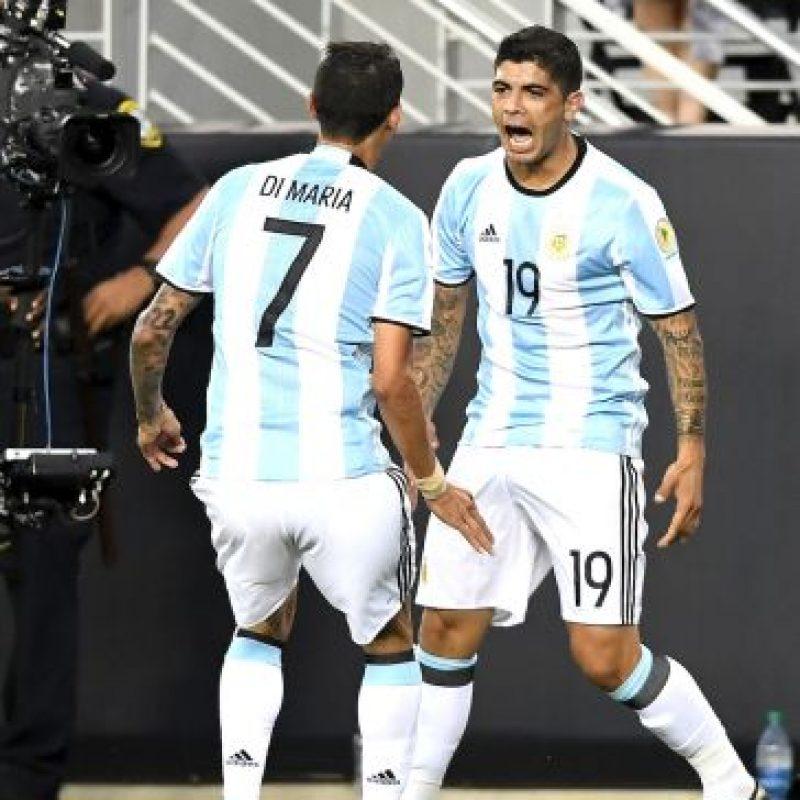 Argentina venció en su primer partido a Chile Foto:Getty Images