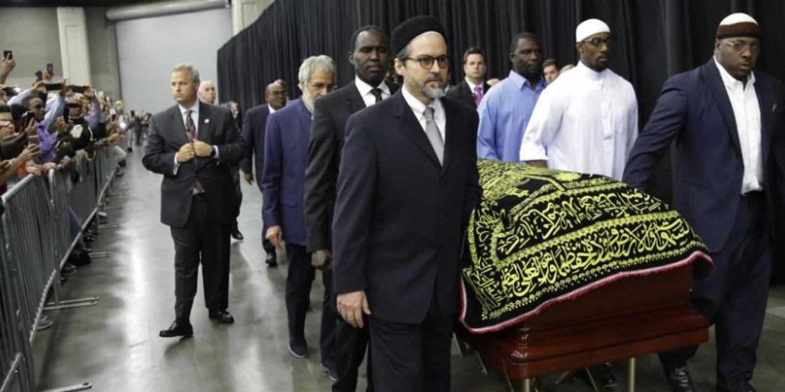 Las mejores imágenes de la despedida de Muhammad Ali Foto:AP