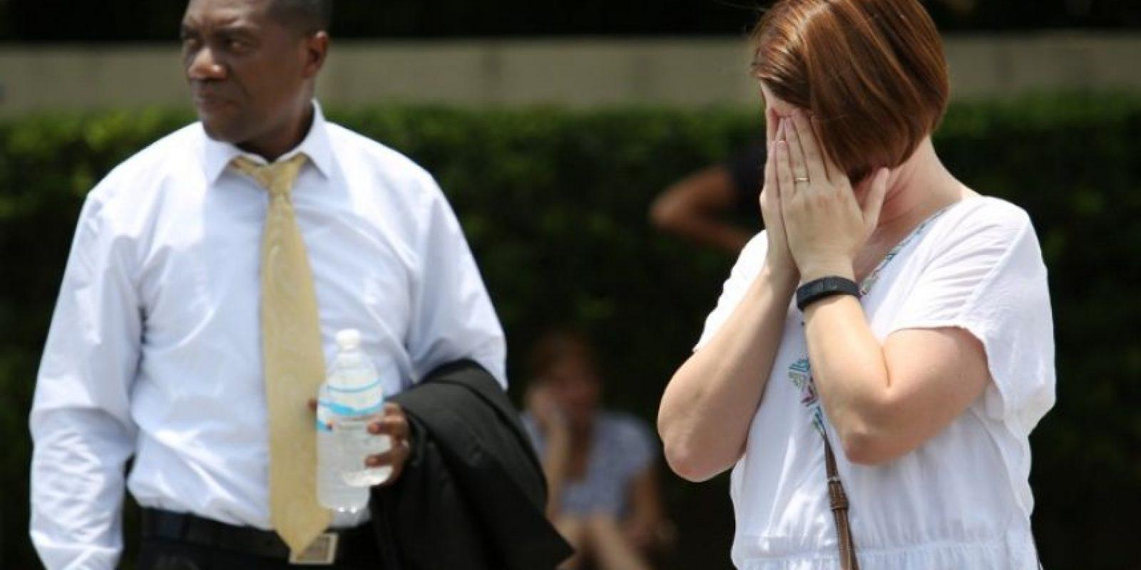 Al menos 50 personas murieron por el atentado terrorista Foto:AFP