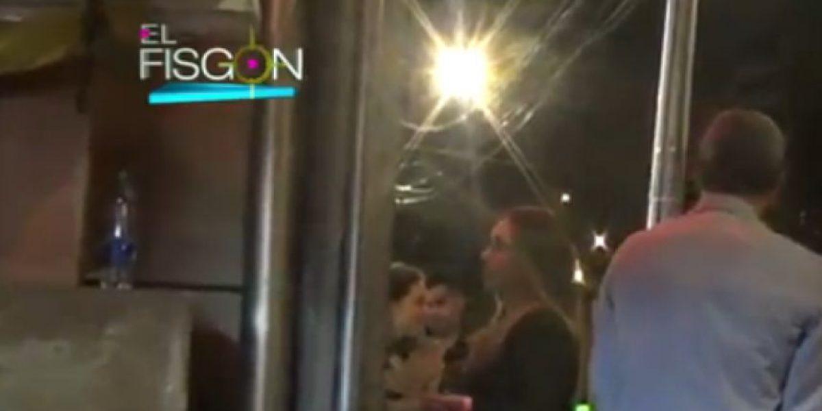 Milena López tuvo un inconveniente durante la fiesta de la Revista Vea