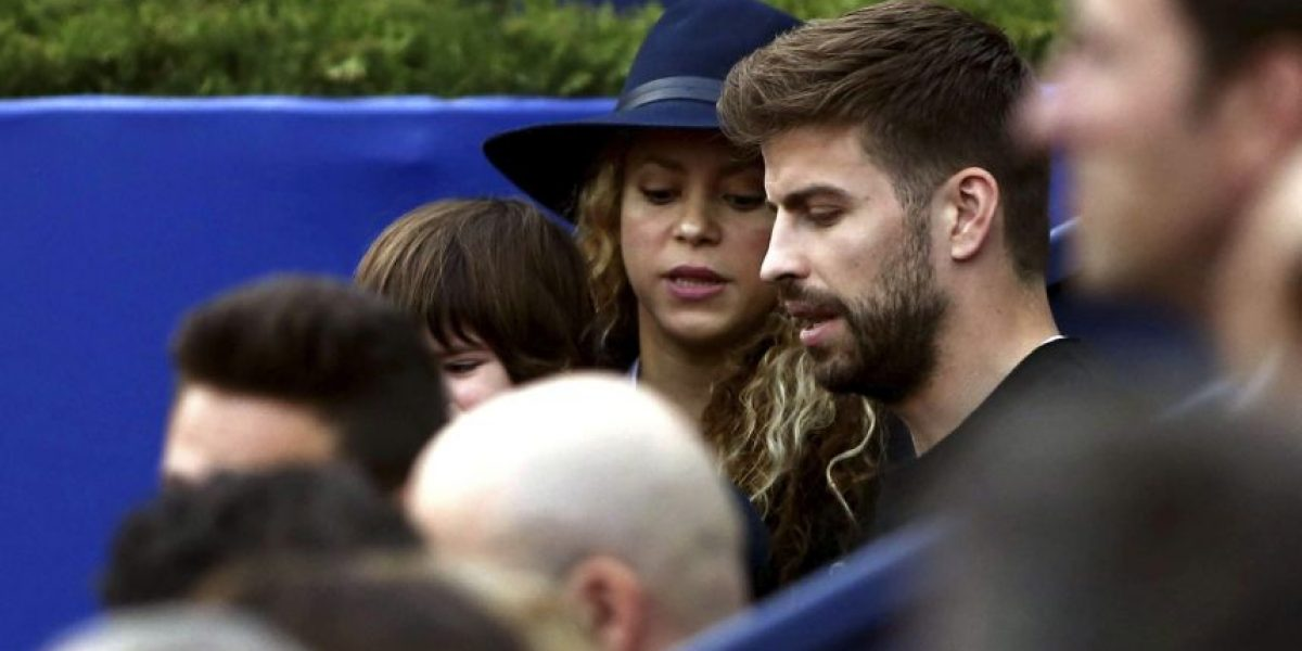 Piqué, Shakira y sus hijos son sensación en todo el mundo