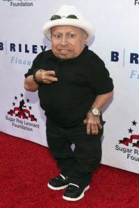 Verne Troyer/Mide 80 centímetros (31 pulgadas)  Foto:Getty Images