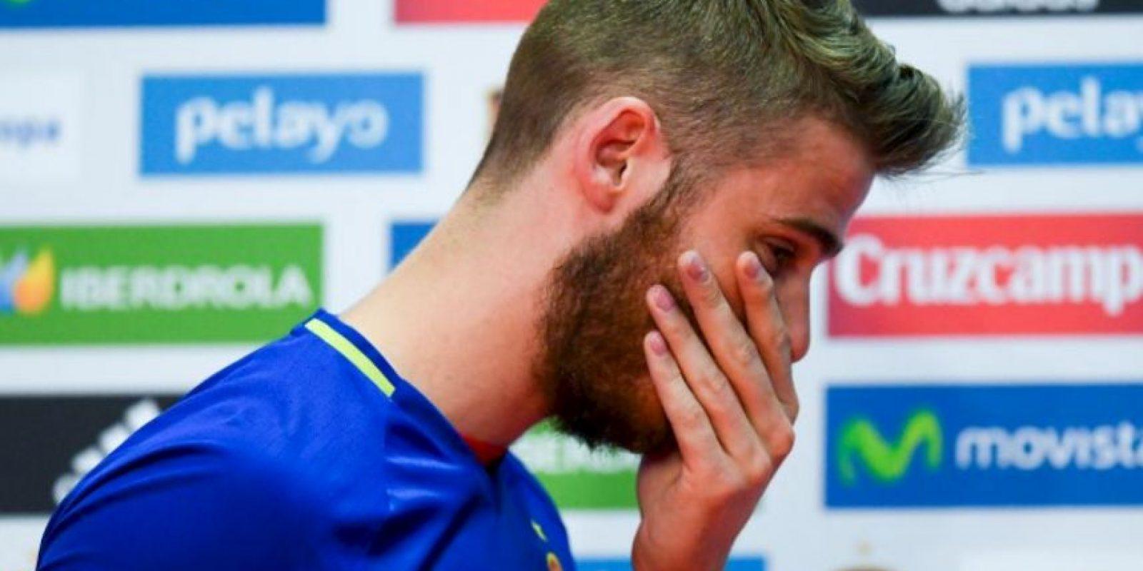 David De Gea negó la acusación por contactar a una chica para tener relaciones sexuales con él y otros futbolistas Foto:Getty Images