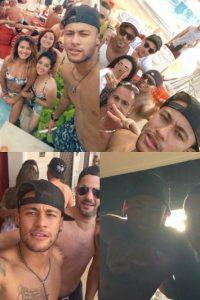 Así fue la pool party de Neymar Foto:Vía instagram.com/neymarjr_rafaella.fc