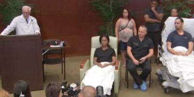 Los dos sobrevivientes se encomendaron a Dios cuando los atacaron. Foto:CNN