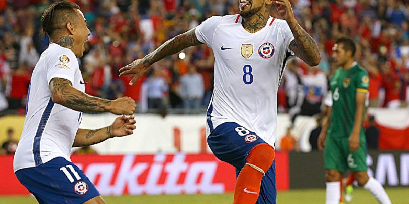 La Roja espera avanzar de ronda y no ser la gran decepción de la Copa América Centenari Foto:Getty Images