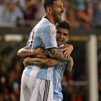 Le dio buena suerte, pues marcó un hat-trick en su debut ante Panamá Foto:Getty Images
