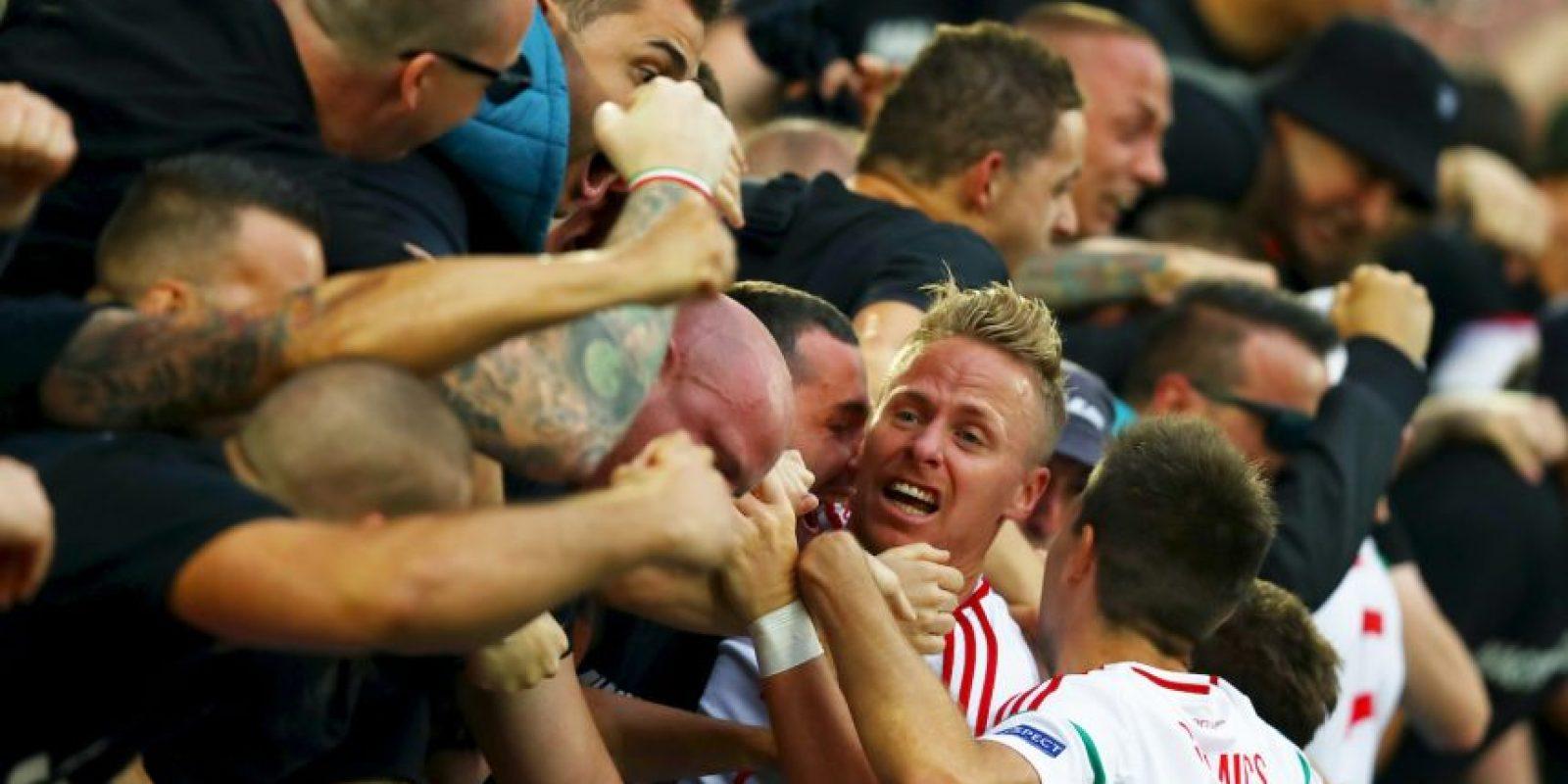 Después de 44 sin estar en el torneo de selecciones, los húngaros vencieron por 2 a 0 a los austríacos Foto:Getty Images