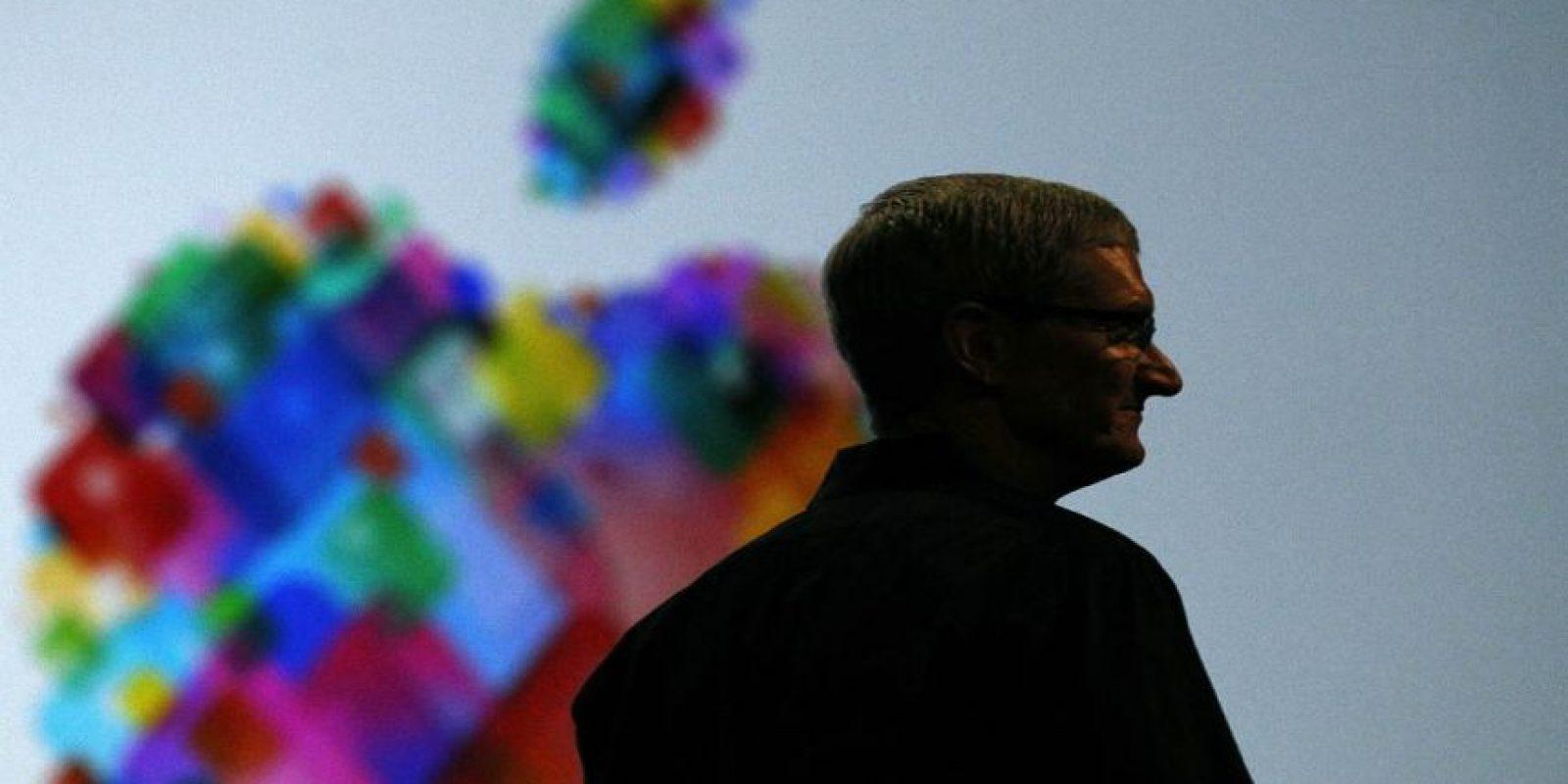 Y emocionó a la comunidad de fanáticos de Apple. Foto:Getty Images