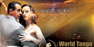 El sexto Campeonato Mundial de Tango: World Tango Championships en el Teatro Pablo Tobón Uribe.