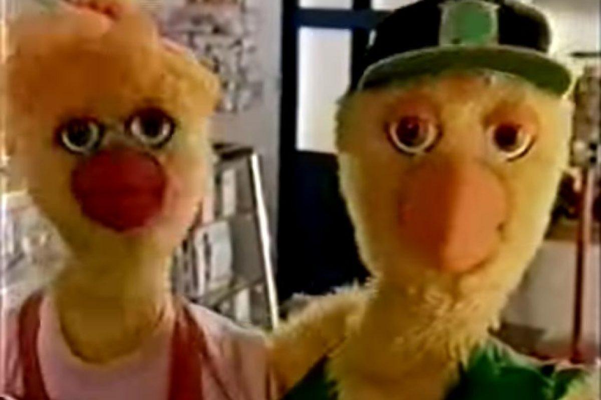 """Foto:Captura de pantalla video campaña """"Sin preservativo, ni pio"""" Ministerio de Salud. Año 1994."""