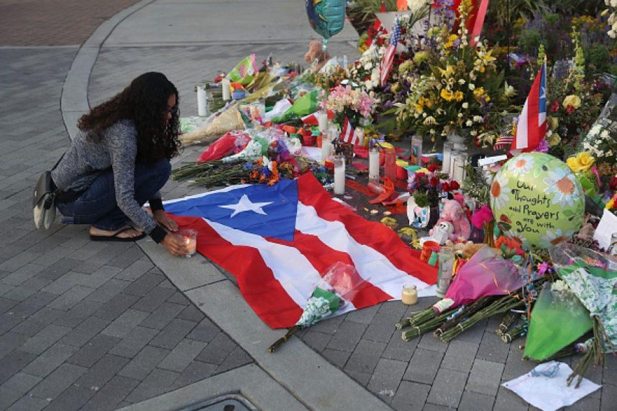 Continúan las muestras de apoyo tras el atentado en Orlando, Florida Foto:Getty Images