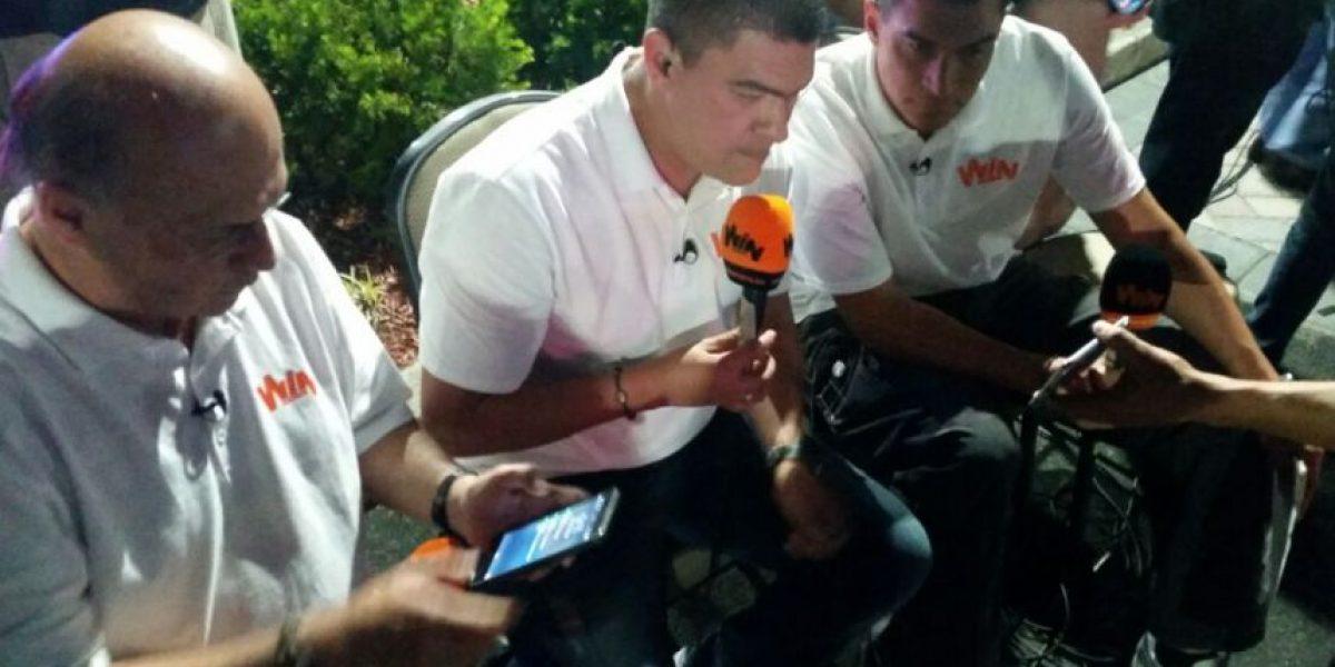 Periodistas colombianos terminaron transmitiendo la final en la calle