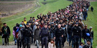 Entre enero y mayo de 2016, llegaron más de siete mil menores a Italia Foto:Getty Images